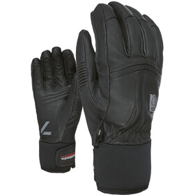 Level Off Oiste Gants En Cuir Homme, black